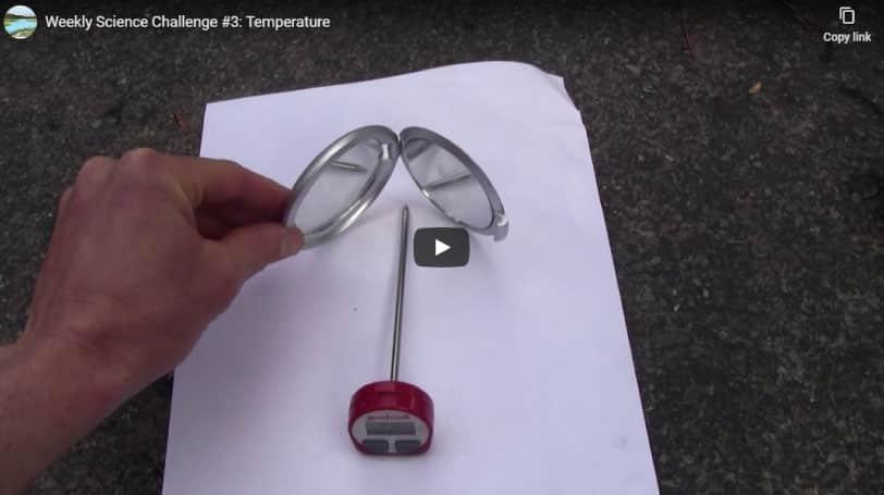 Science Challenge: Temperature