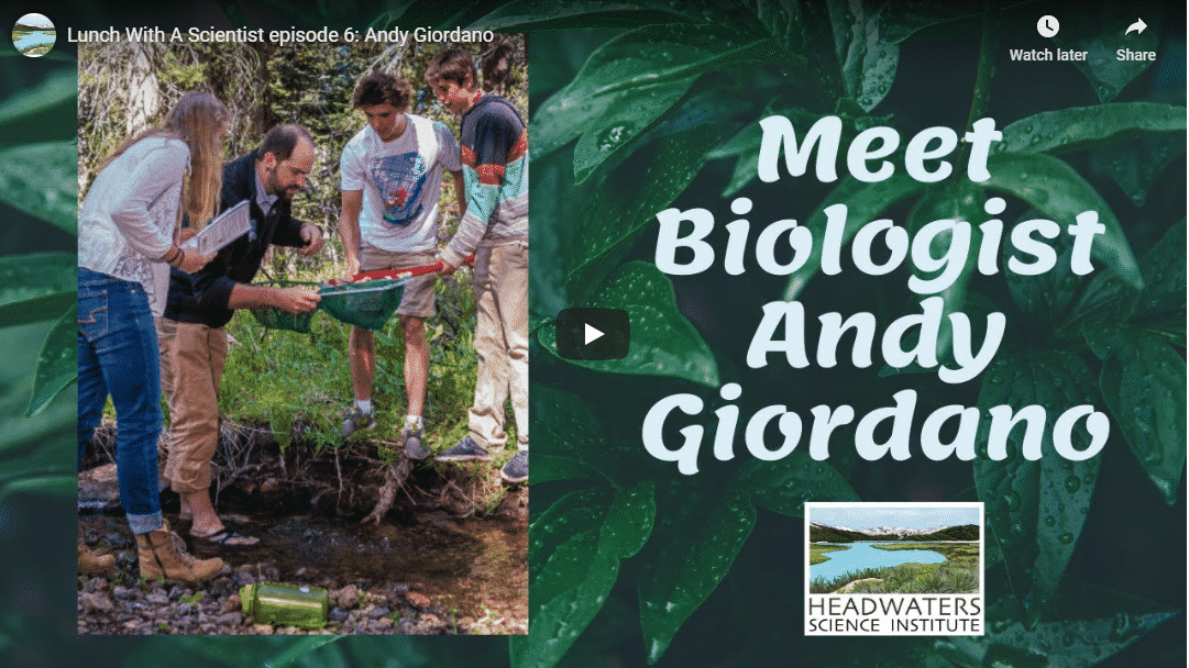 Lunch With A Scientist: Andy Giordano