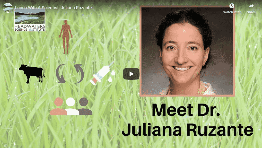 Lunch With A Scientist: Dr. Juliana Ruzante