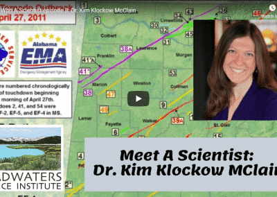 Lunch With A Scientist: Dr. Kim Klockow McClain discusses tornados