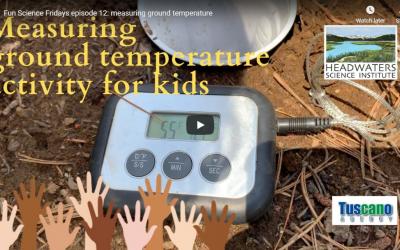 Fun Science Friday: Measuring Ground Temperature