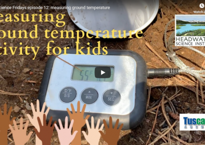 Fun Science Friday: Measuring Ground Temperature