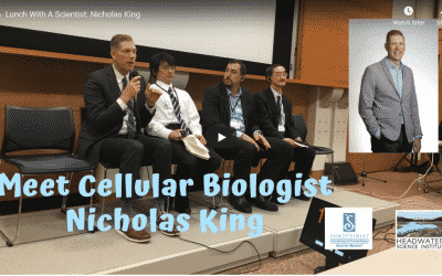 Lunch With A Scientist: Nicholas King