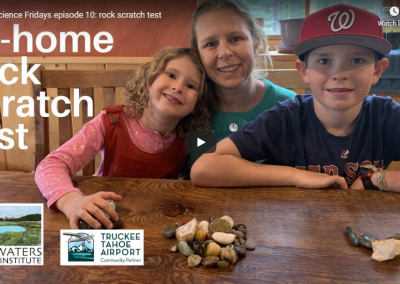 Fun Science Friday: Rock Scratch Test