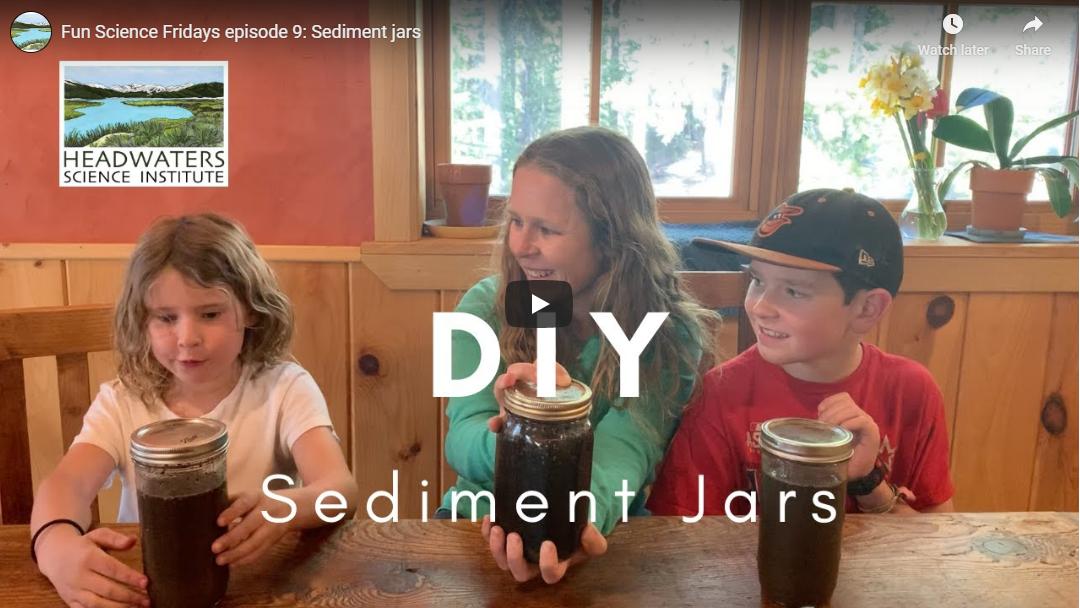 Fun Science Friday: Making Sediment Jars