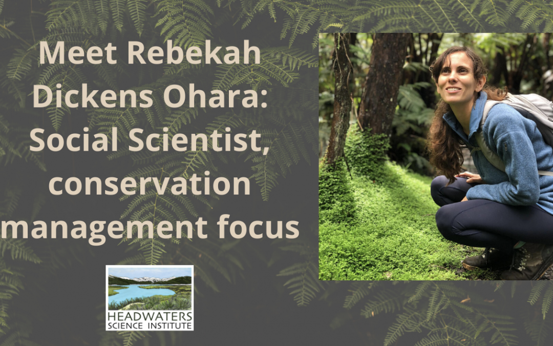 Lunch With A Scientist: Rebekah Dickens-Ohara
