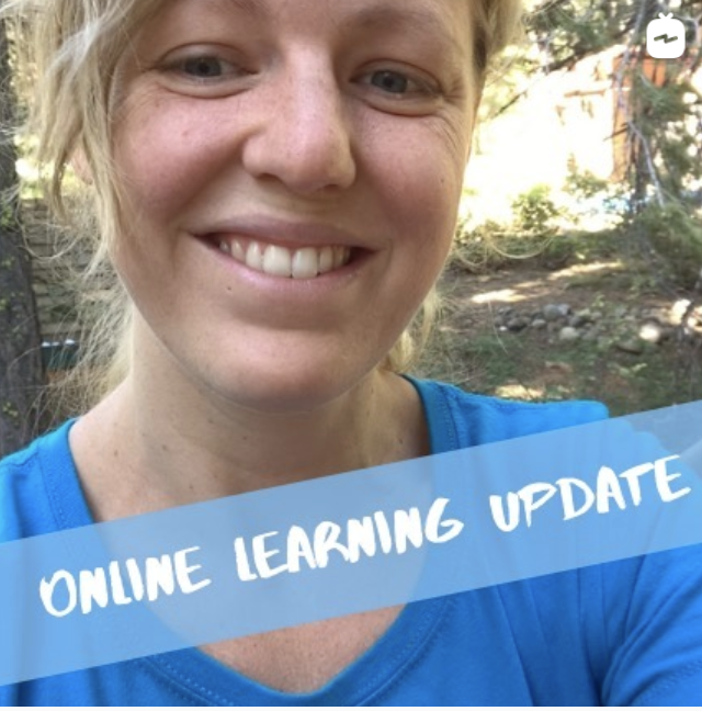 July Online Learning Update