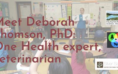 Lunch With A Scientist: Dr. Deborah Thomson