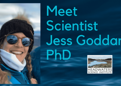 Lunch With A Scientist: Dr. Jess Goddard