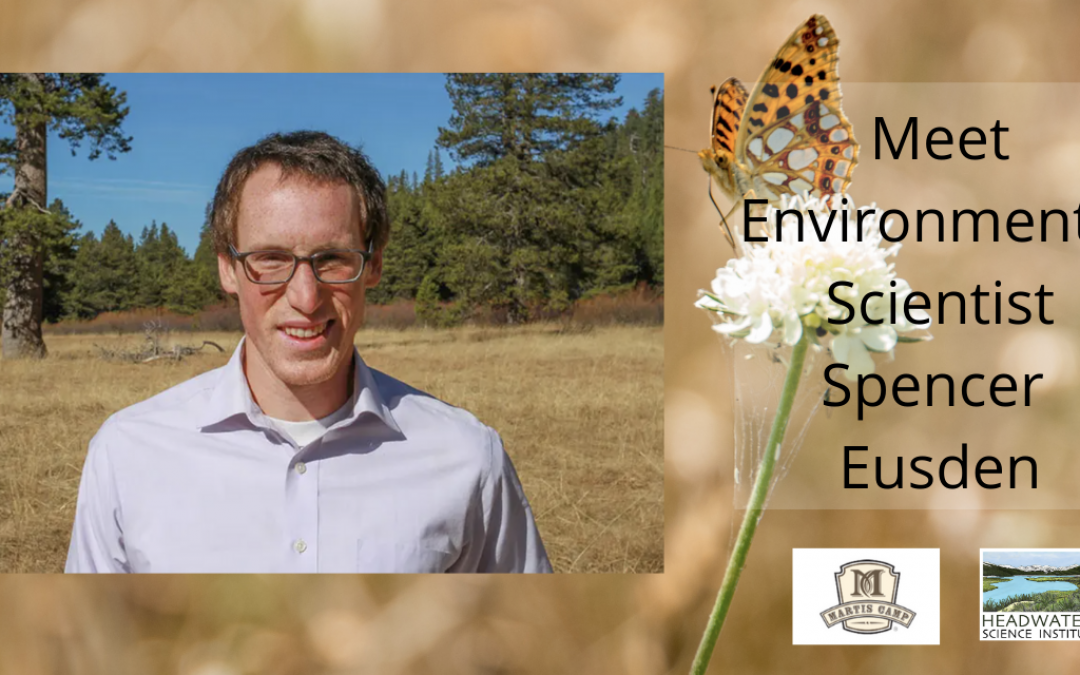 Lunch With A Scientist: Citizen science and butterfly surveying with Spencer Eusden