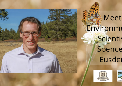 Lunch With A Scientist: Spencer Eusden