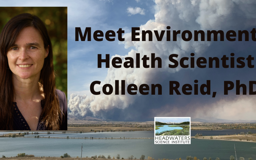 Lunch With A Scientist: Colleen Reid, PhD