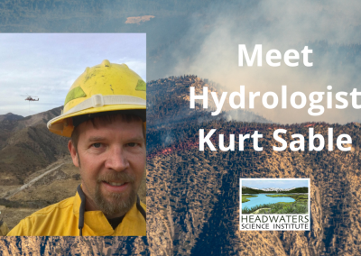 Lunch With A Scientist: Kurt Sable on Wildfire