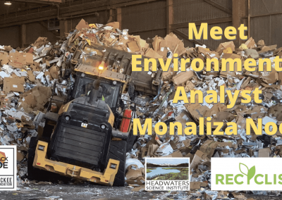 Lunch With A Scientist: Monaliza Noor on recycling contracts in California