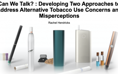 Rachel Hendricks is offering a free tobacco awareness curriculum