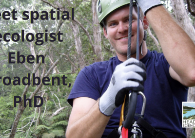 Lunch With A Scientist: Using drones for conservation work with Eben Broadbent, PhD