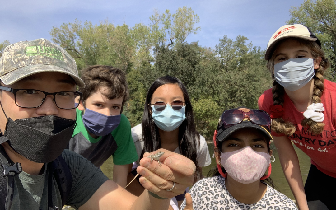 6th Graders from Sacramento Country Day Explore the American River